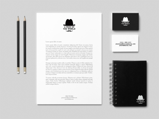A_Man_OF_The_World-Branding-Mock-Up